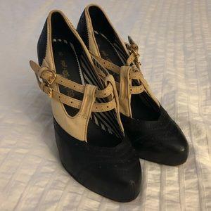 LAMB Oxford heels